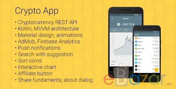 Crypto Coin Market Cap Android App