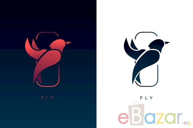 Freepik Premium Vector | Abstract logo in two versions