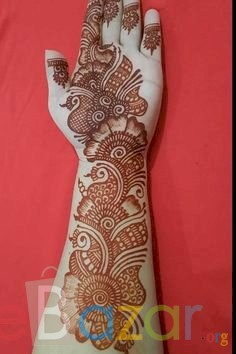 Some simple Mehendi designs you can try at home on Karwa Chauth 2021