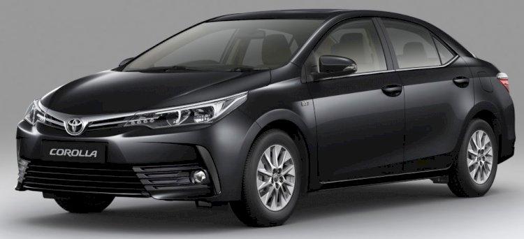 Toyota Corolla Altis Black Color Price in Bangladesh.