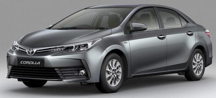 Toyota Corolla Altis Grey Color Price in Bangladesh.