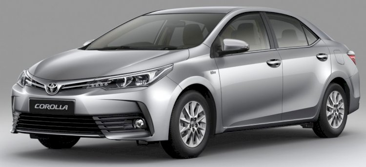 Toyota Corolla Altis Silver Color Price in Bangladesh.