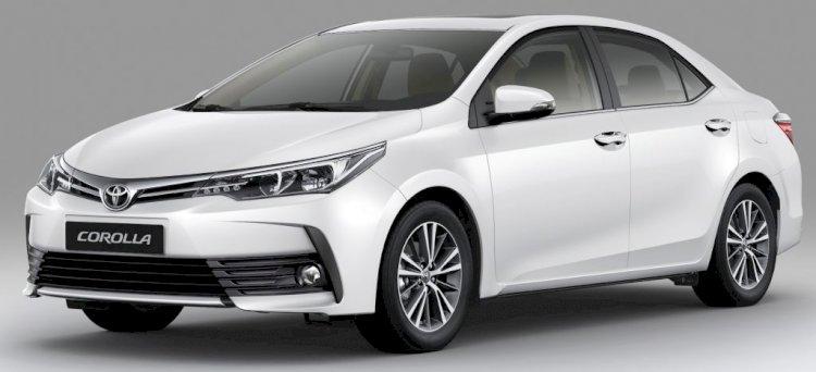 Toyota Corolla Altis White Color Price in Bangladesh.