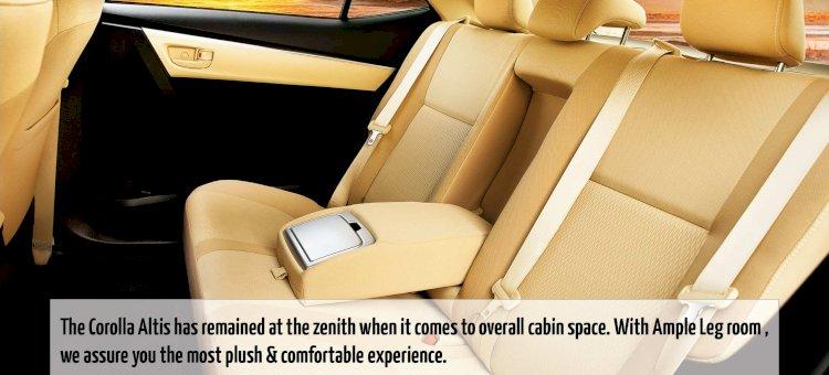 Toyota Altis Interior Images