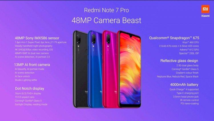 Xiaomi Redmi Note 7 Pro in Bangladesh
