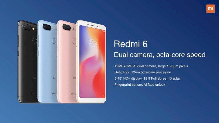 রেডমি ৬ দাম ও স্পেসিফিকেশন | Redmi 6 Price and Specifications
