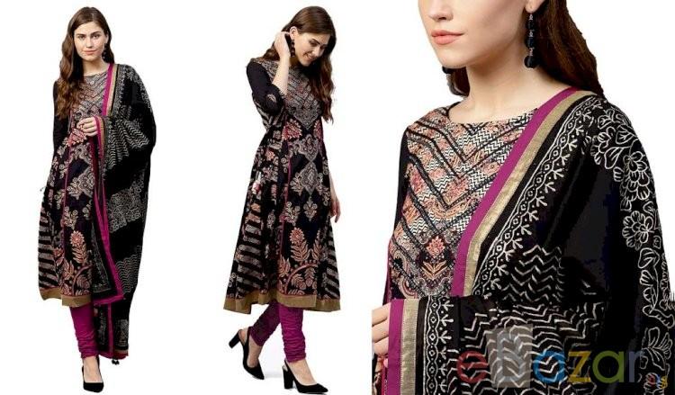 A Line Salwar Suit Set | এ লাইন সালোয়ার কামিজ