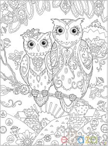 Printable Coloring Pages for Adults {15 Free Designs} - EverythingEtsy.com