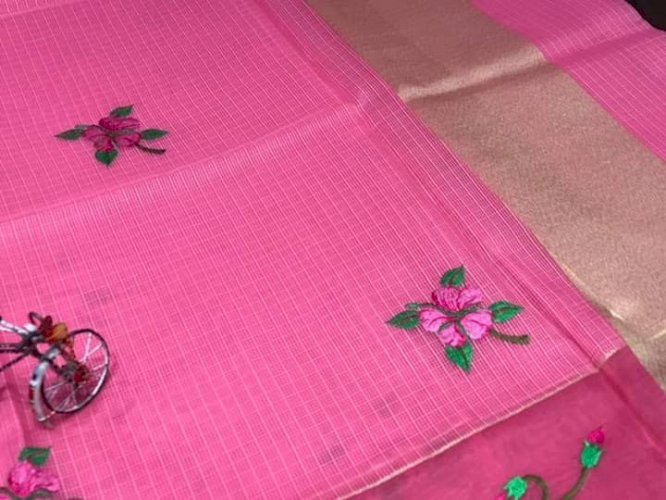 Soft Silk Kota Muslins Saree