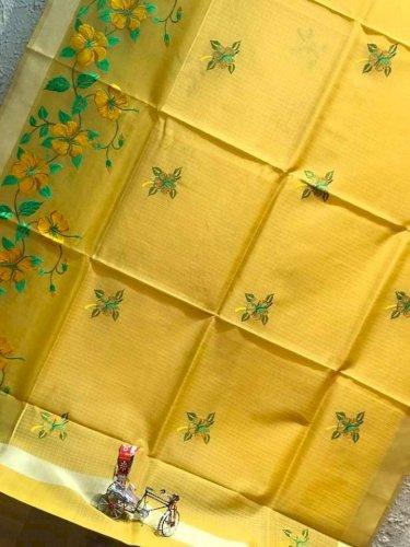Soft Silk Kota Muslins Saree