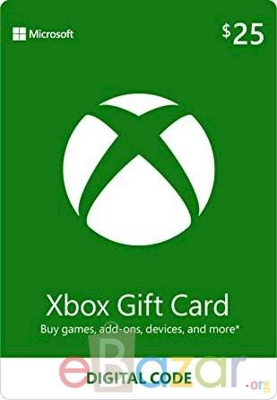 $25 Xbox Gift Card [Digital Code]