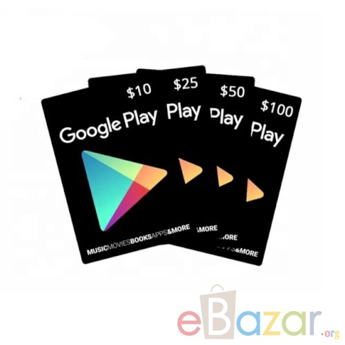 Buy a Google Play Card Online | Email Delivery